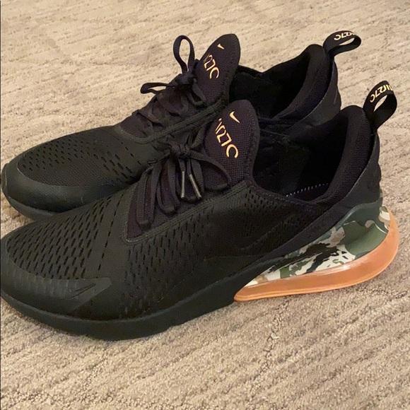 Nike Shoes | Air Max 270 Camo Heel